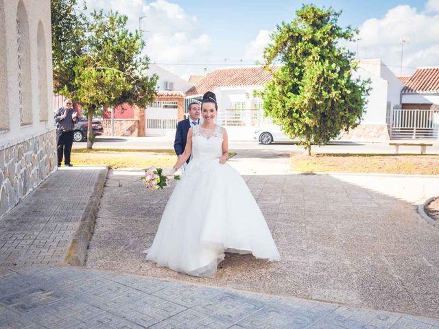 La boda de Marcos y Raquel en Santiago De La Ribera, Murcia 36