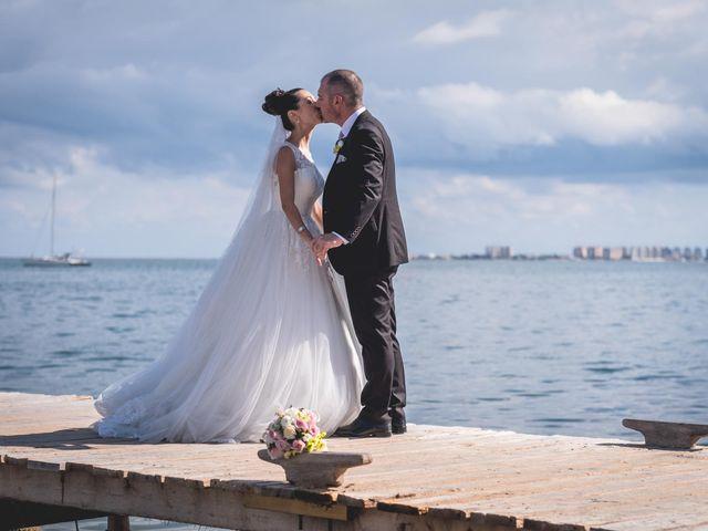 La boda de Marcos y Raquel en Santiago De La Ribera, Murcia 54