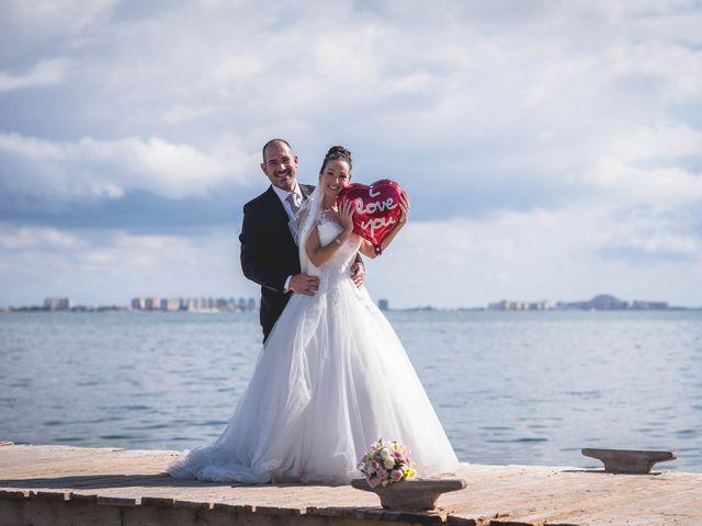 La boda de Marcos y Raquel en Santiago De La Ribera, Murcia 55