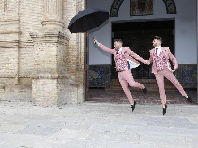 La boda de Antonio y Ynoel en Sevilla, Sevilla 14