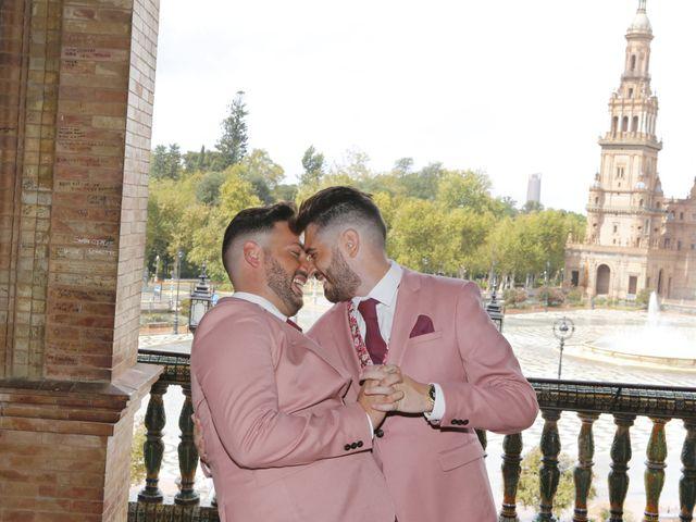 La boda de Antonio y Ynoel en Sevilla, Sevilla 22