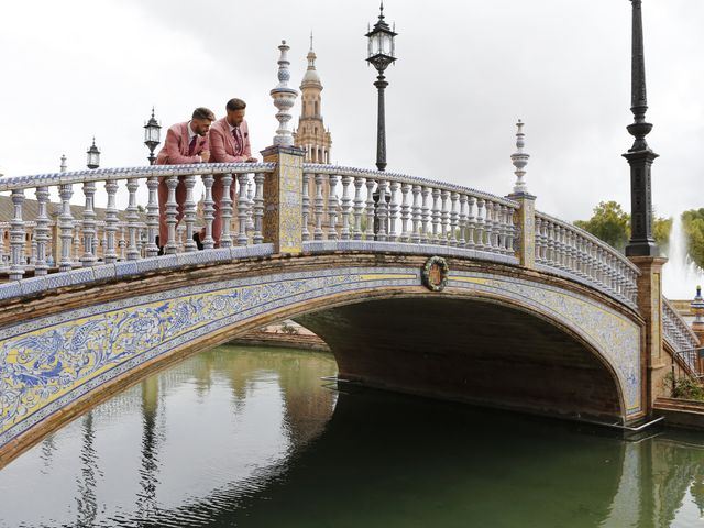 La boda de Antonio y Ynoel en Sevilla, Sevilla 27
