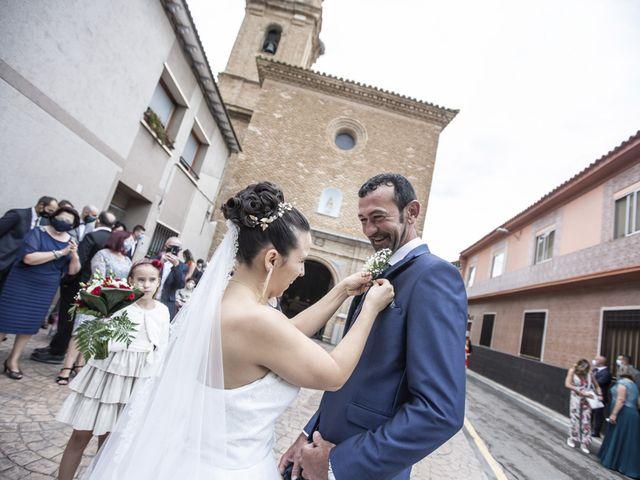 La boda de Jose Manuel y Rocio en Pedrola, Zaragoza 31