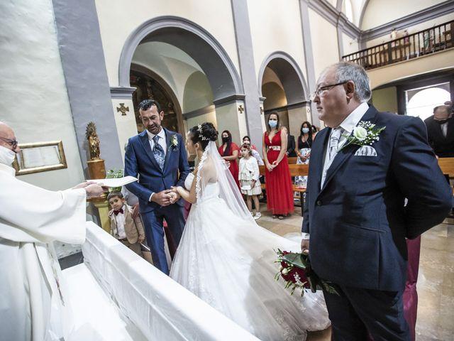 La boda de Jose Manuel y Rocio en Pedrola, Zaragoza 35