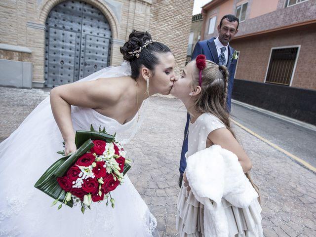 La boda de Jose Manuel y Rocio en Pedrola, Zaragoza 41