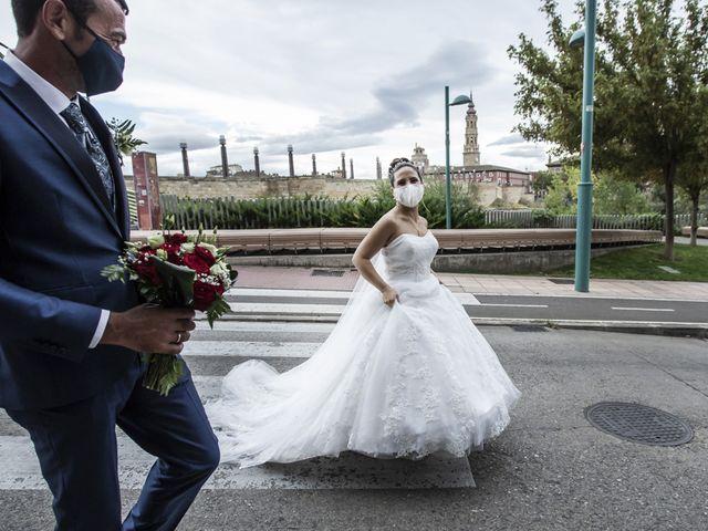 La boda de Jose Manuel y Rocio en Pedrola, Zaragoza 1