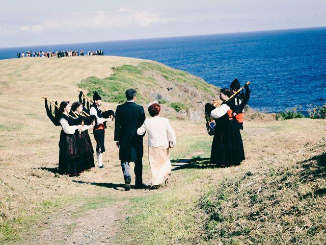 La boda de Jose y Sara en La Caridad (El Franco), Asturias 9