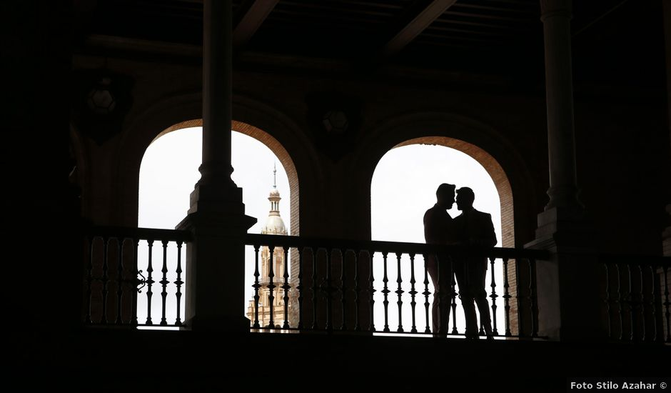 La boda de Antonio y Ynoel en Sevilla, Sevilla