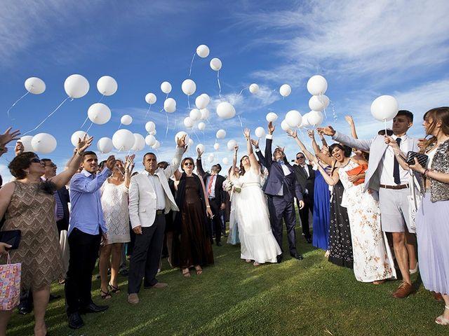 La boda de Antonio y Guiomar en San Agustin De Guadalix, Madrid 10