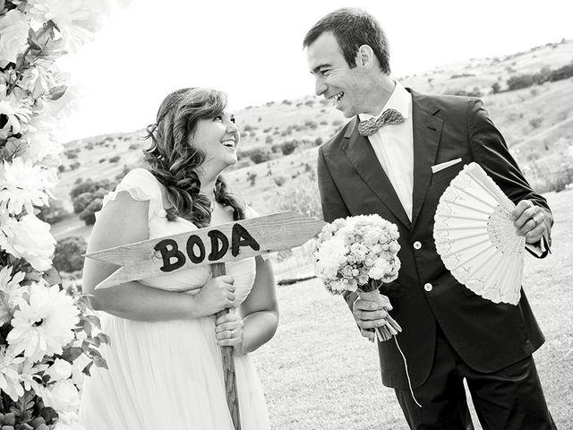 La boda de Antonio y Guiomar en San Agustin De Guadalix, Madrid 12