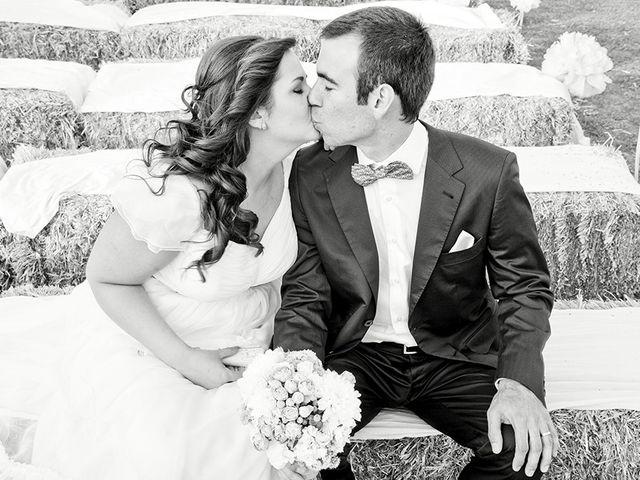 La boda de Guiomar y Antonio