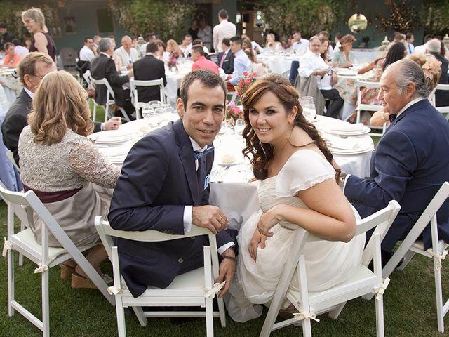 La boda de Antonio y Guiomar en San Agustin De Guadalix, Madrid 19