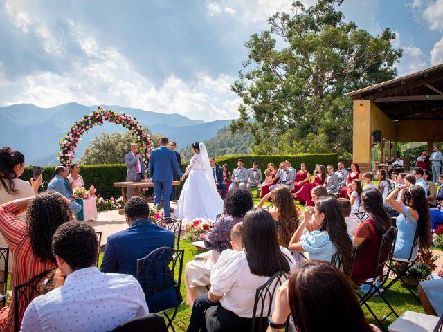 La boda de Brenda y Guilherme en Arbucies, Girona 31