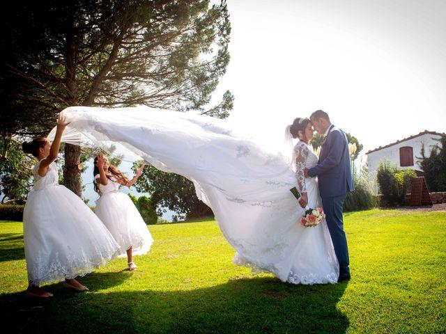 La boda de Brenda y Guilherme en Arbucies, Girona 44
