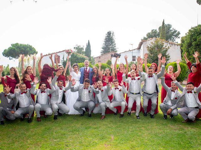La boda de Brenda y Guilherme en Arbucies, Girona 45