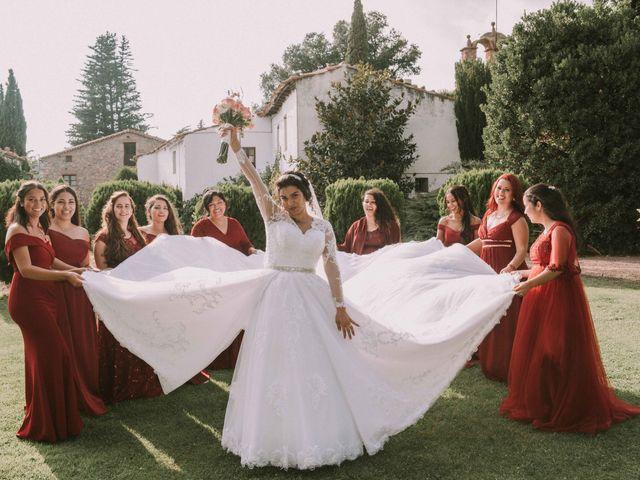 La boda de Brenda y Guilherme en Arbucies, Girona 49