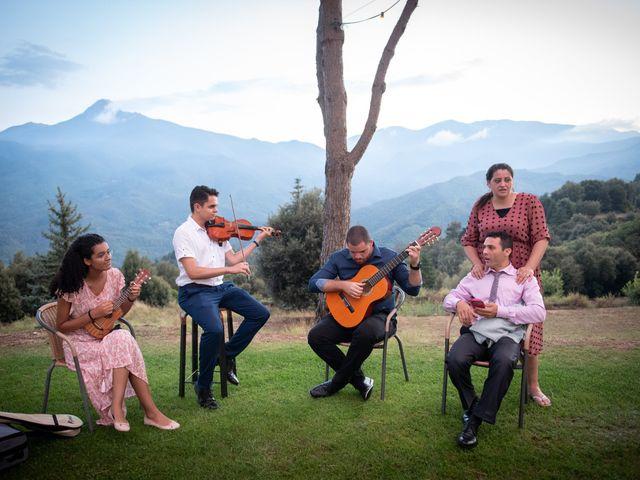 La boda de Brenda y Guilherme en Arbucies, Girona 73