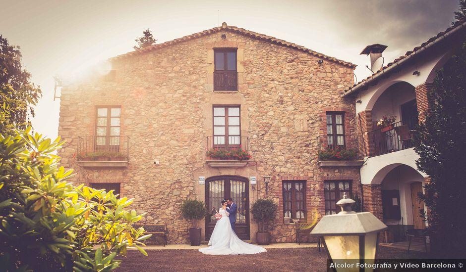 La boda de Brenda y Guilherme en Arbucies, Girona