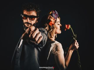 La boda de Salvador Gil y Aurora Ruiz