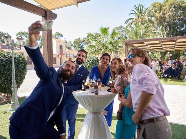 La boda de David y Esther en San Pedro Del Pinatar, Murcia 93