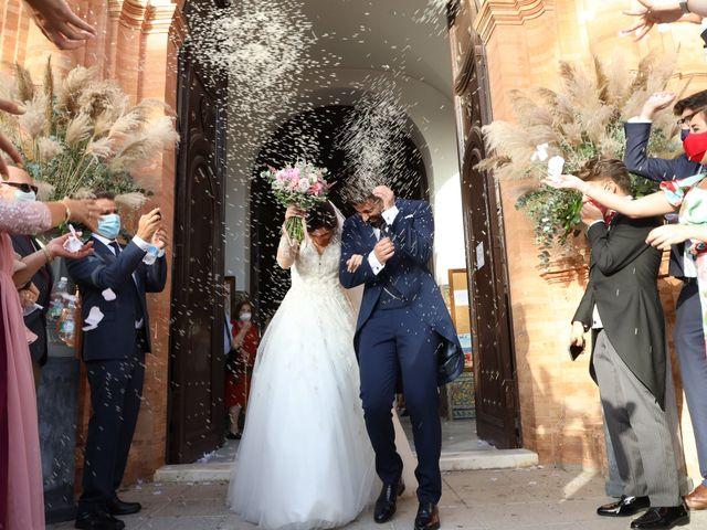 La boda de Irene y Fran en Villalba Del Alcor, Huelva 41