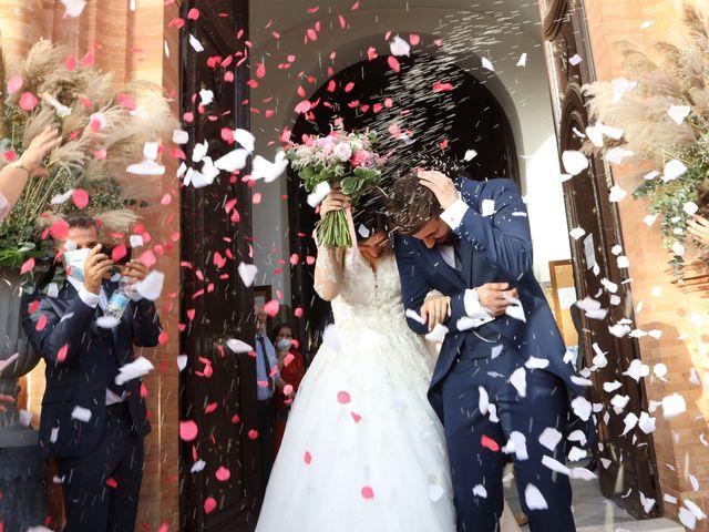 La boda de Irene y Fran en Villalba Del Alcor, Huelva 42