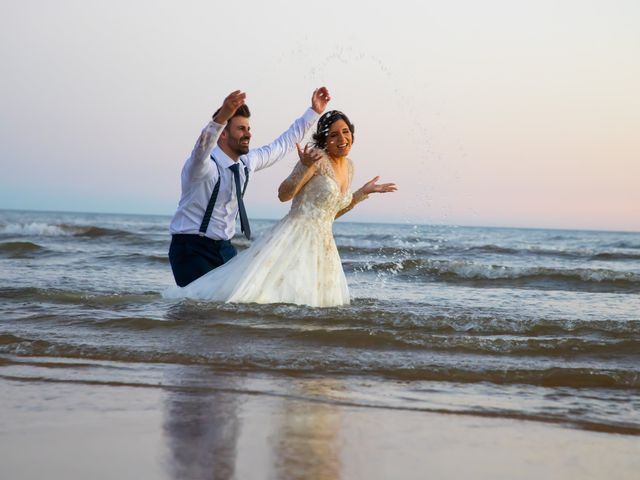 La boda de Irene y Fran en Villalba Del Alcor, Huelva 78
