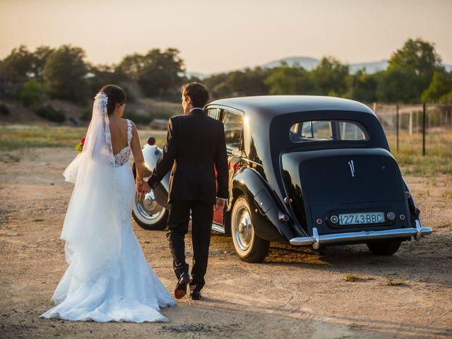La boda de Dani y Laura en Guadarrama, Madrid 13