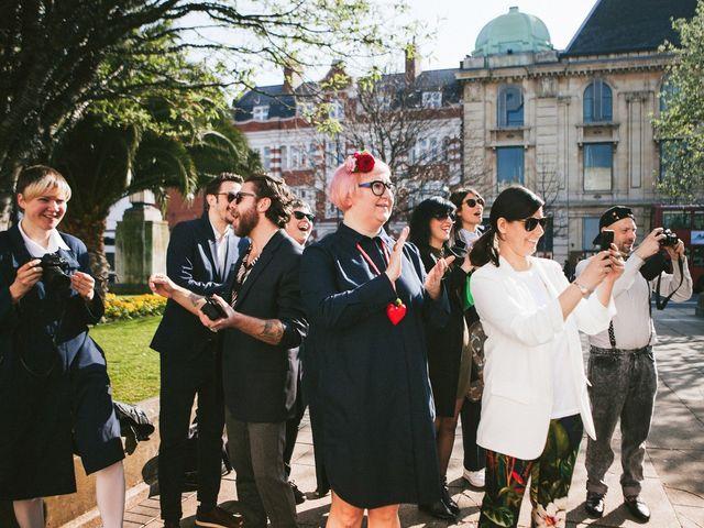 La boda de Acacia y Valentina en Carrion De Calatrava, Ciudad Real 8