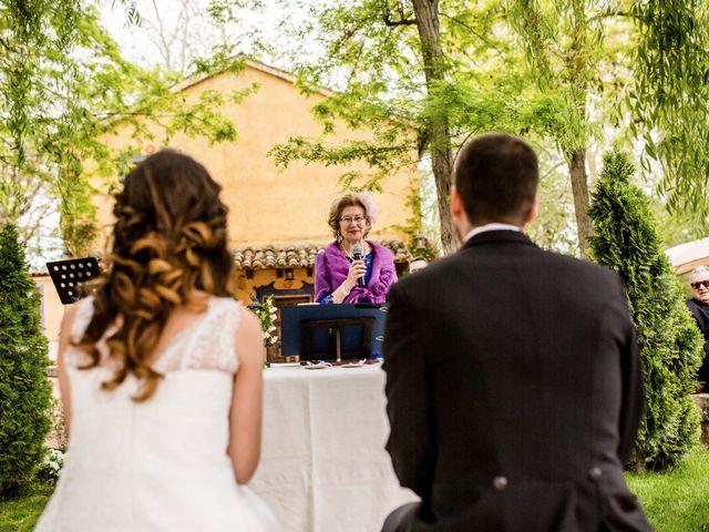 La boda de Álvaro y Inés en Chinchon, Madrid 40