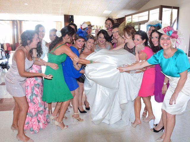 La boda de David y Cristina  en Cádiz, Cádiz 52