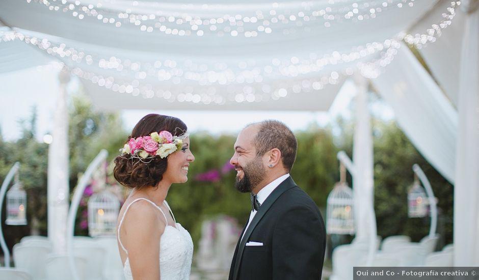 La boda de Antonio y Vanessa en Cartagena, Murcia