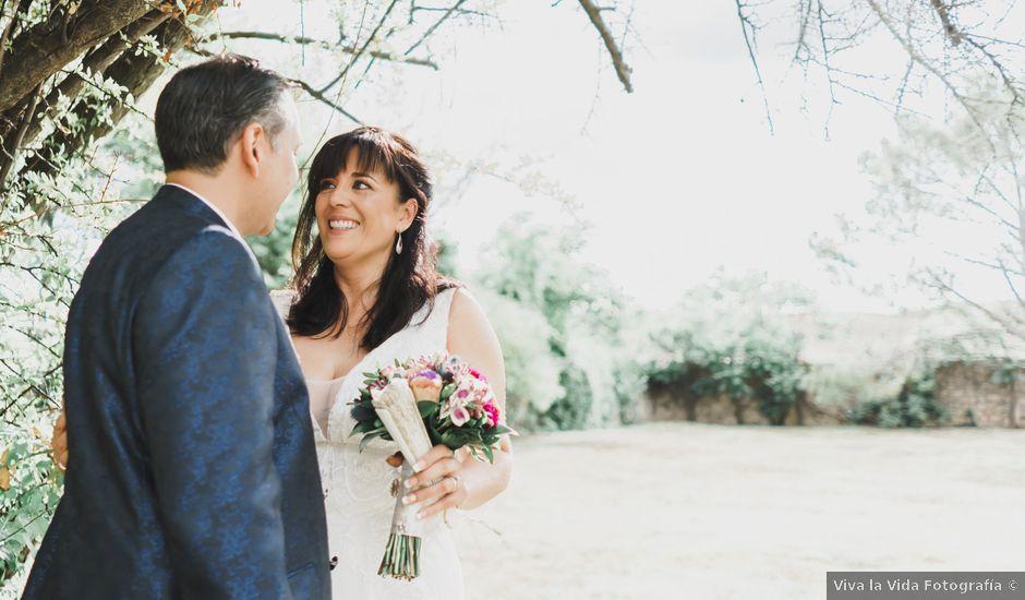 La boda de Juan y Sonia en Valdeprados, Segovia