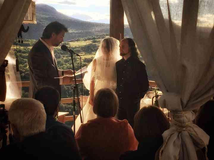 La boda de Irene y Mark
