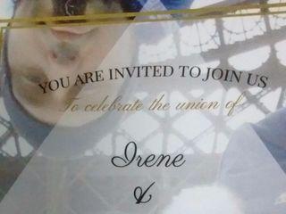 La boda de Irene y Mark 1
