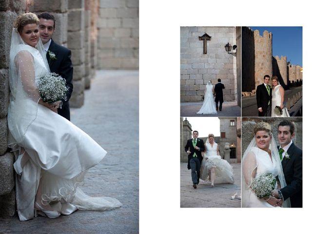La boda de Teresa y Mario en Ávila, Ávila 1