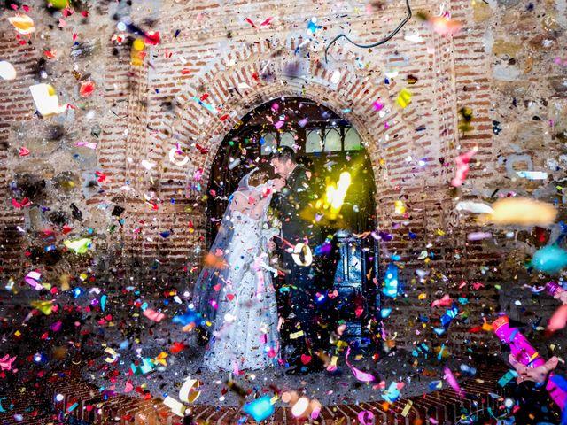 La boda de Javier y Patricia en Hinojosa Del Valle, Badajoz 49