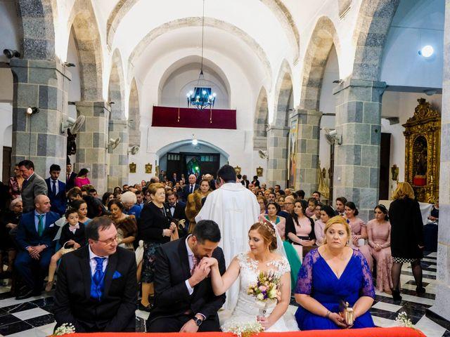 La boda de Javier y Patricia en Hinojosa Del Valle, Badajoz 55