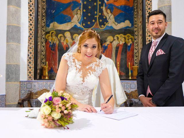 La boda de Javier y Patricia en Hinojosa Del Valle, Badajoz 57