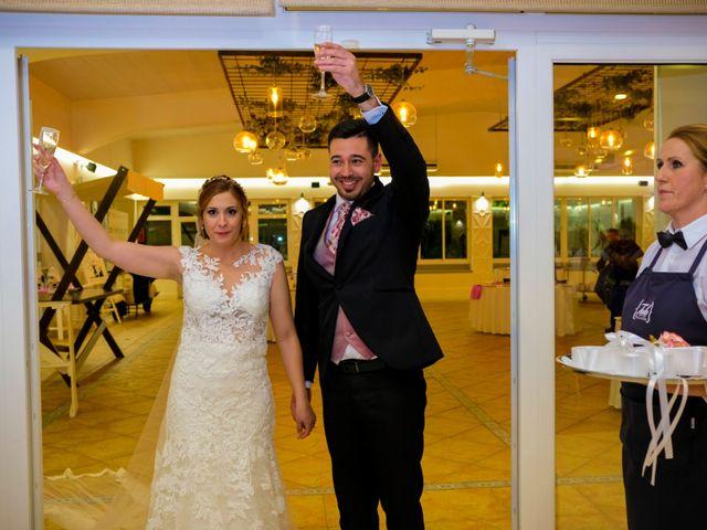 La boda de Javier y Patricia en Hinojosa Del Valle, Badajoz 69