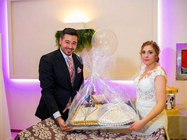 La boda de Javier y Patricia en Hinojosa Del Valle, Badajoz 73