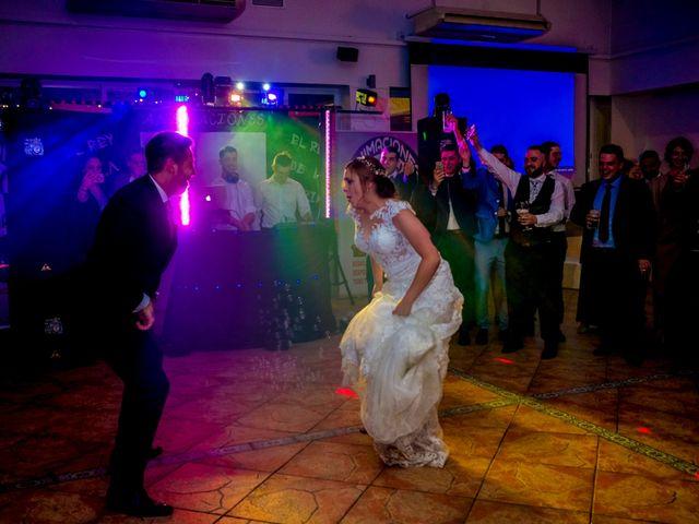 La boda de Javier y Patricia en Hinojosa Del Valle, Badajoz 83