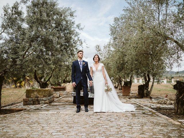 La boda de Juande y Inma en Villafranca De Cordoba, Córdoba 74