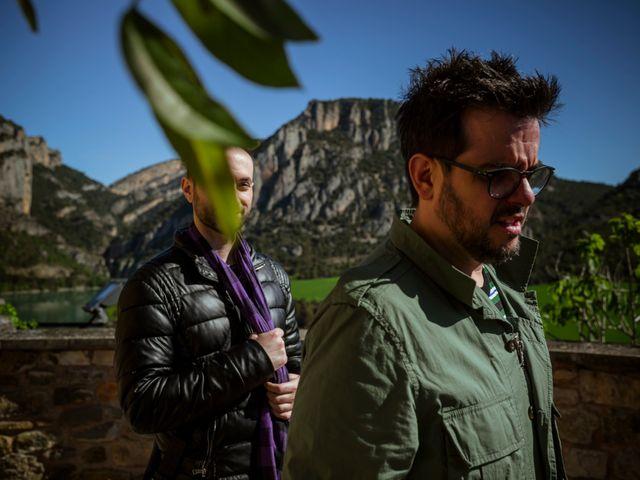 La boda de Alessandro y Alejandro en Ligüerre De Cinca, Huesca 10