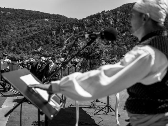 La boda de Alessandro y Alejandro en Ligüerre De Cinca, Huesca 40