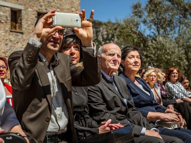 La boda de Alessandro y Alejandro en Ligüerre De Cinca, Huesca 41