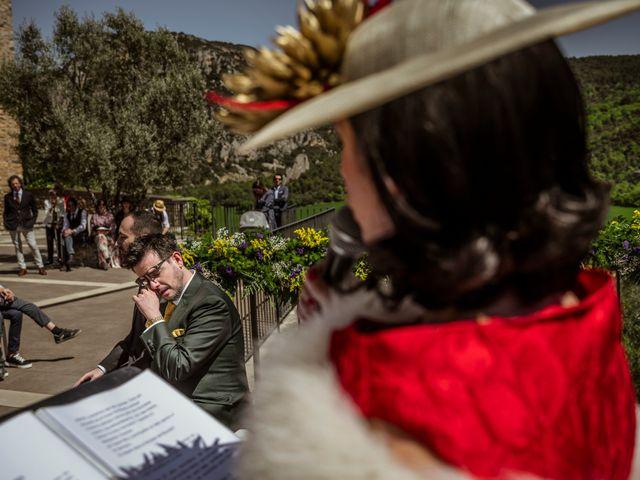 La boda de Alessandro y Alejandro en Ligüerre De Cinca, Huesca 42