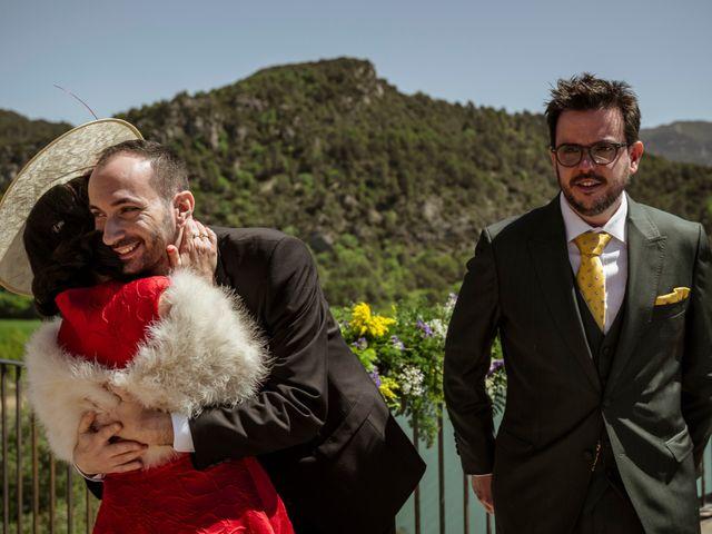 La boda de Alessandro y Alejandro en Ligüerre De Cinca, Huesca 43