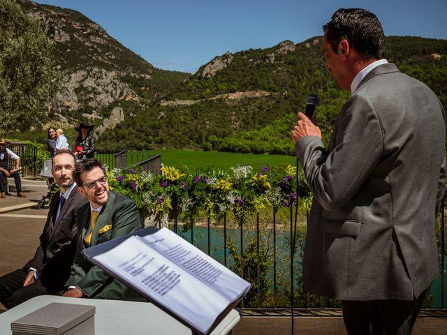 La boda de Alessandro y Alejandro en Ligüerre De Cinca, Huesca 46