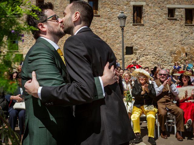 La boda de Alessandro y Alejandro en Ligüerre De Cinca, Huesca 50